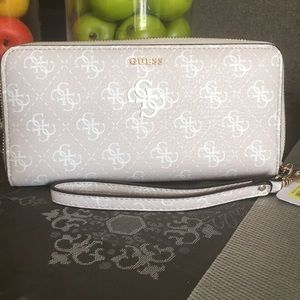 Guess vegan leather wallet purse
